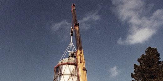 Akaroa Lighthouse on the move
