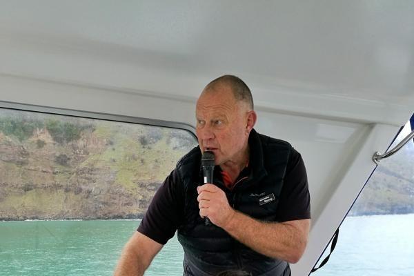 Bainzy  - Akaroa Dolphins Skipper