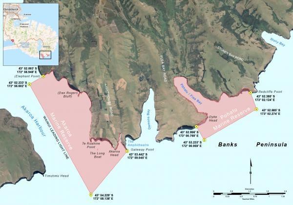 Akaroa Pohatu Marine Reserves